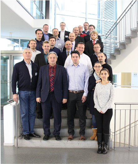 The participants to Workshop 2, 10-12 November 2016, Bayreuth, Germany.